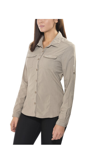 Craghoppers NosiLife Adventure Long-Sleeved Shirt Women Mushroom